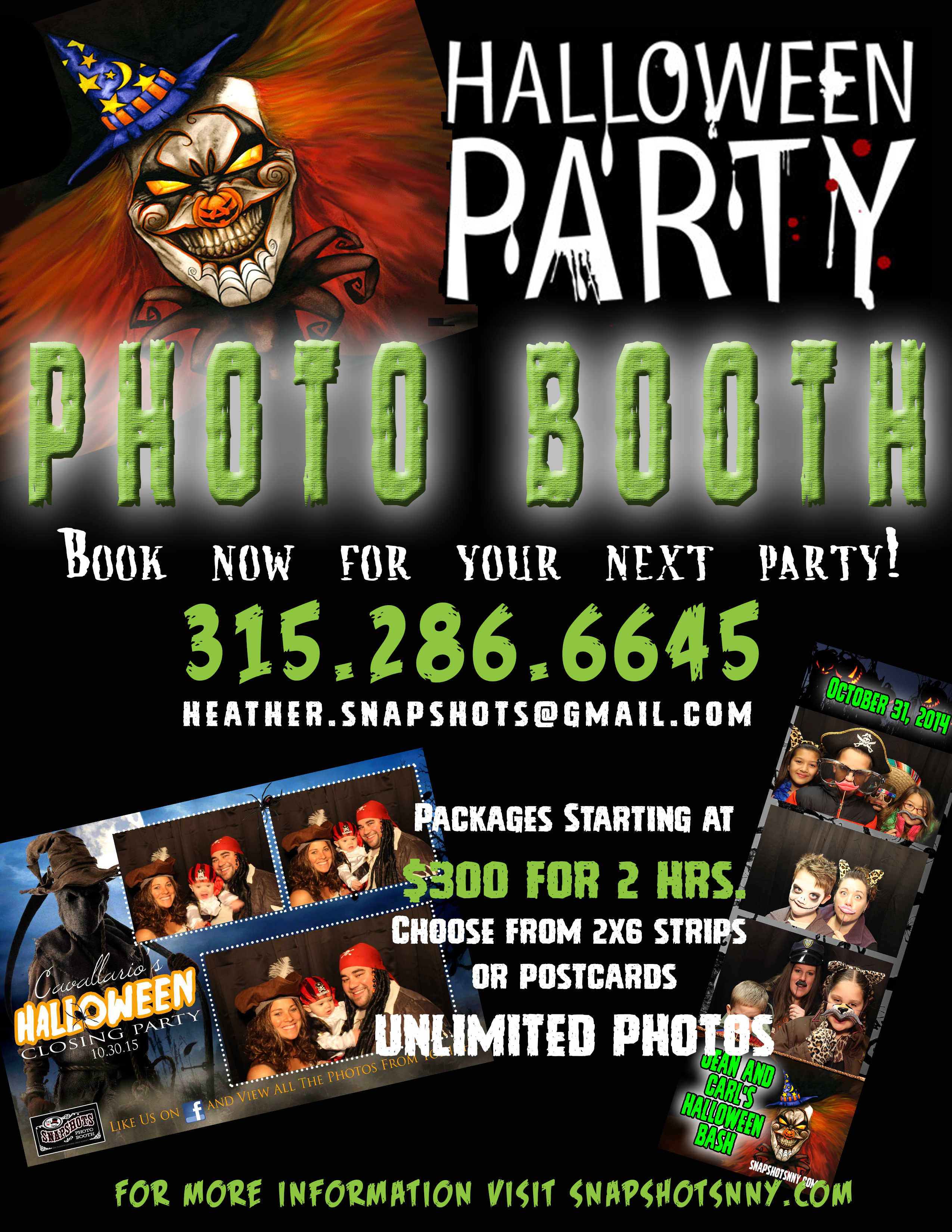 MAKE YOUR PARTY THE TALK OF THE TOWN WITH SNAPSHOTS PHOTO BUS AND BOOTHS…