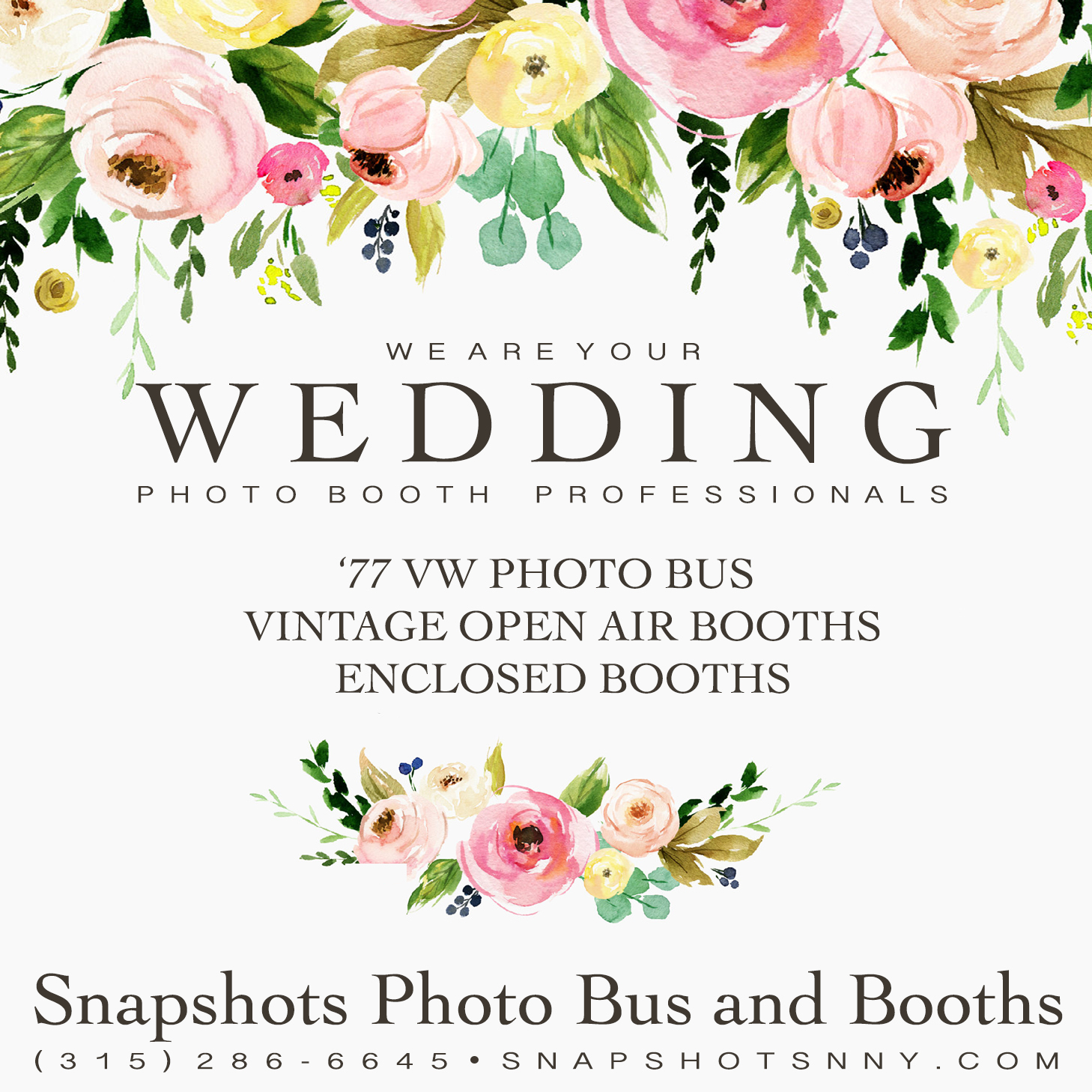 WHY CHOOSE SNAPSHOTS PHOTO BUS AND BOOTHS FOR YOUR WEDDING