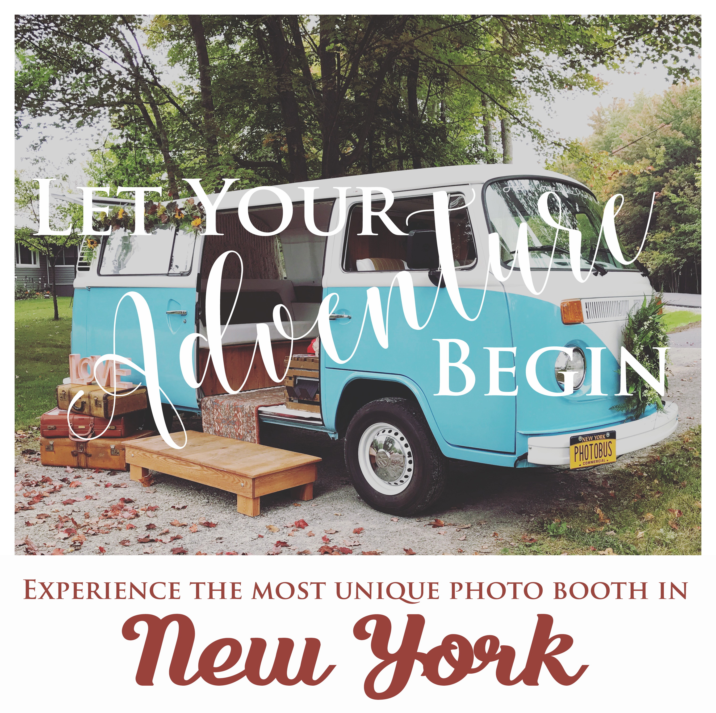 New York's Vintage 1977 VW Photo Bus